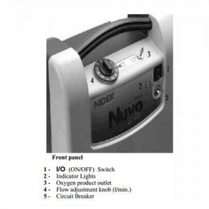 دستگاه اکسیژن ساز نایدک 5 لیتری